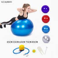 Bolas de Yoga deportivas Bola Pilates Fitness pelota gimnasio equilibrio Fitball ejercicio Pilates entrenamiento pelota de masaje con bomba 55 cm 65 cm 75 cm