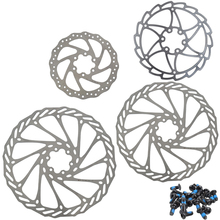 MEIJUN Stainless Steel MTB Bike Disc Brake Rotor 140mm 160mm 180mm 203mm Mountain Road Bike Bicycle Parts