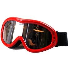 BLUR Motorcycle Goggles Helmet Accessories Single Lens Glasses Transparent Universal For Adult Helmet Racing Motorbike Glasses