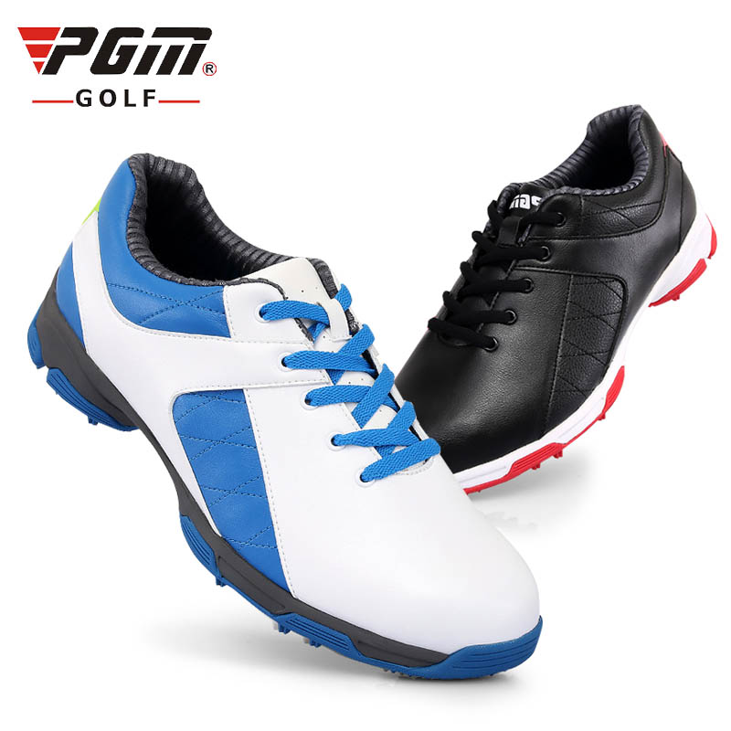 Brand PGM Adult Mens Women Golf Sports Shoes Anti-sideslip   Waterproof Breathable  Light Weight Golf Sneakers natural rubber pgm authentic golf shoes men waterproof anti skid high quality male sport sneakers breathable shoes