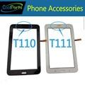 Preto e branco color touch screen digitador para samsung galaxy Tab 3 Lite 7.0 T110 Versão Wi-fi/T111 SM-T111 3G Versão 1 Pc/lote
