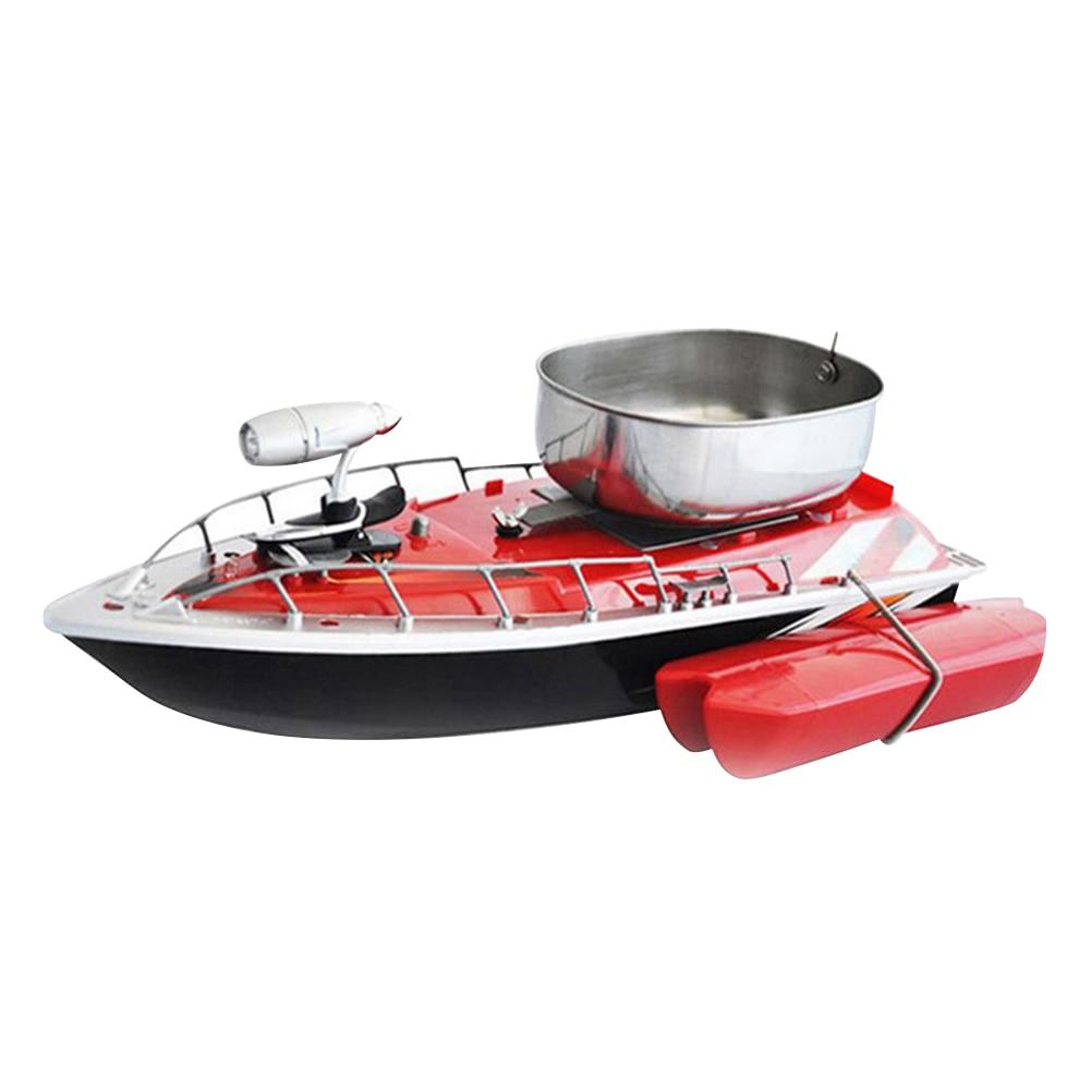 Mini RC Fishing Lure Bait Boat Finding Fish Wireless Remote Control Fish Finder Ship ZJ55