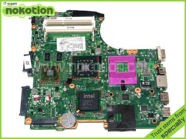 все цены на NOKOTION laptop motherboard for hp cq321 605746-001 Mother Boards intel PM45 ATI 216-0749001 DDR3 Mainboard free shipping онлайн