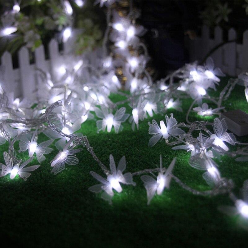 SVELTA 10 м светодиодный Бабочка света строки Gerlyanda Гирлянда новогодняя Фея светильники для Xmas Свадебные праздничные украшения сада Luces