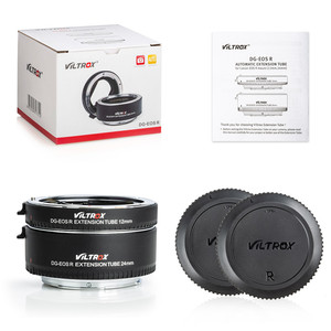 Image 4 - Viltrox DG EOS R Auto Focus Macro Extension Tube Lens Adapter for Canon EOS R RP camera