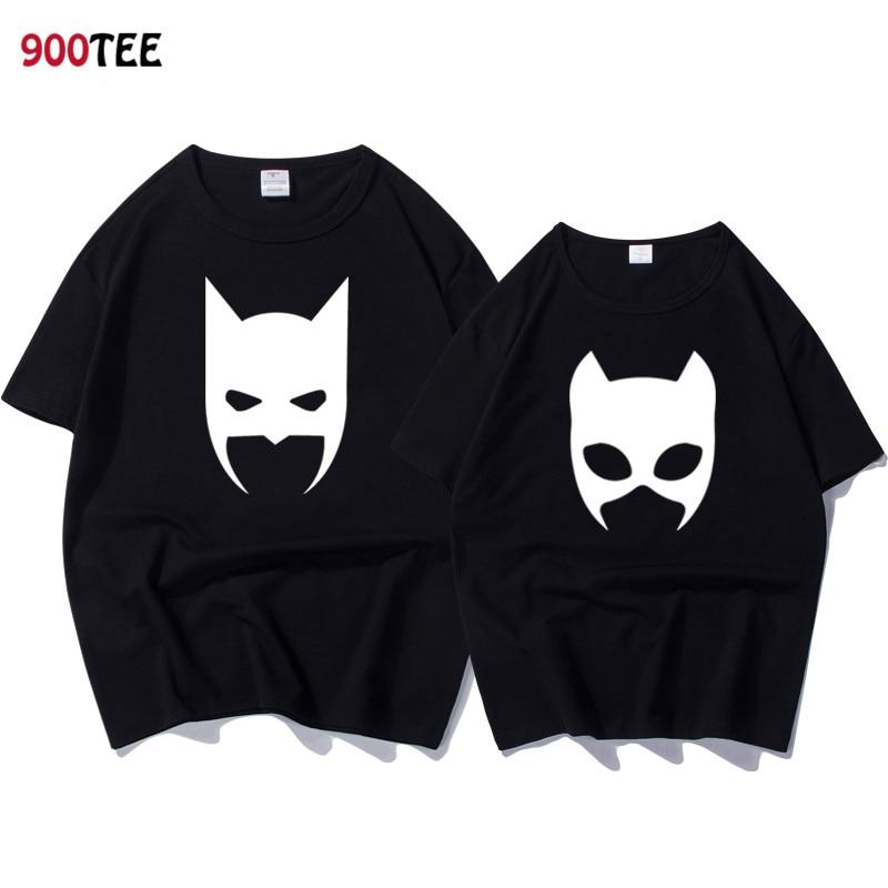 Hipster Couple   T     Shirt   Summer Short Sleeve Women   T  -  shirt   Cotton Loose Print Bat   T     Shirt   Top Tee Funny   T     Shirt   Men/women Harajuku