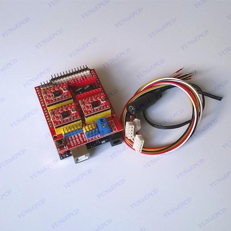 Arduino CNC Shield V3 Engraving Machine Control Panel Expansion Plate 3D Printer Laser Engraving Machine цена
