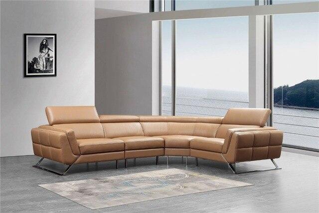 Divani per soggiorno con stile europeo divano ad angolo moderno ...
