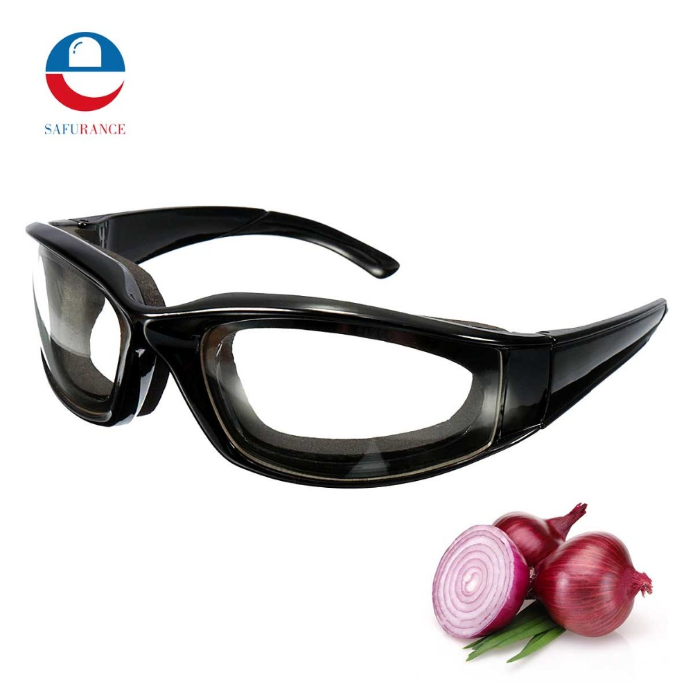 цена Safurance Goggles Glasses Built In Sponge Kitchen Slicing Eye Protection Workplace Safety Windproof Anti-sand