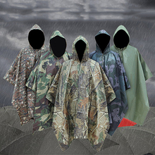 Waterproof Military Impermeable Camo Raincoat Rain Coat Men Women Raincoat Awning From The Rain Motorcycle Rain Poncho the family rain the family rain under the volcano deluxe edition