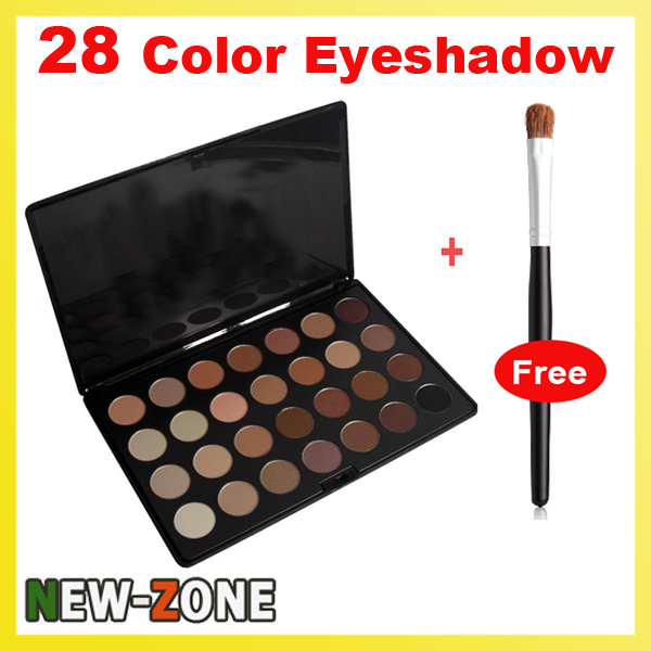 Professinal High Quality 28 Color Eyeshadow Pallet Naked Eye Shadow Makeup free gift + Free Shipping