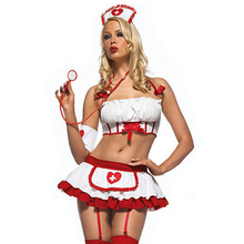 Nurse Costume Erotic Lingerie Role Play