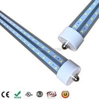 8ft LED Tube Lights T8 Single Pin Fa8 V Shaped 2 4m 2400mm 8 Ft Led