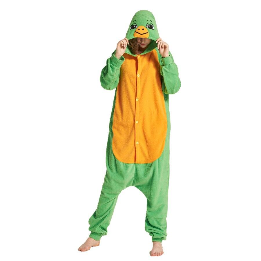 Adults Polar Fleece Tortoise Animal Kigurumi Womens Mens Onesies Pajamas Cosplay Costume for Halloween and Carnival Party