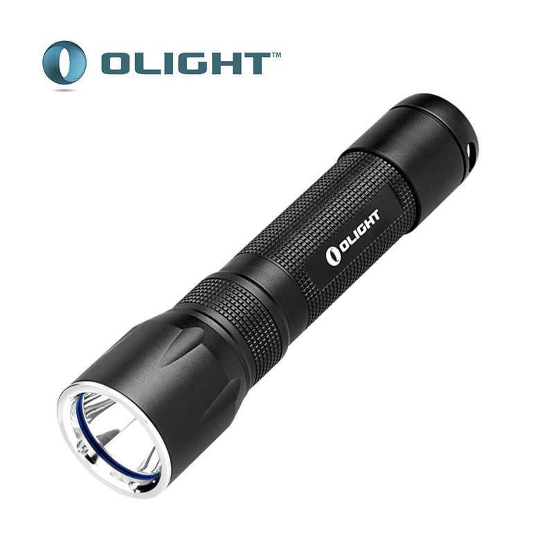 Olight r20 javelot cree XP-L oi led 900 lumens lanterna com um recarregável 2600 mah 18650 bateria tocha