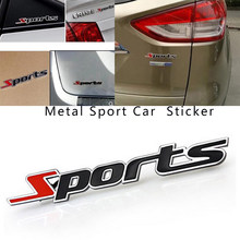 Esporte etiqueta do carro carta 3D chrome emblema do metal para a Lexus ES250 RX350 330 ES240 GS460 CT200H CT DS LX LS É ES GS GX RX-Série(China)