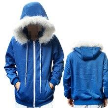 Game Sans Undertale Cosplay Costume for men Sans Undertale hoodie zipper Men Winter Coat M XXL