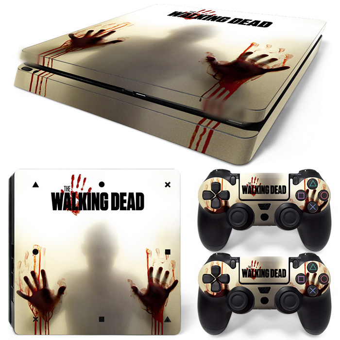 حمل و نقل رایگان قطره ویژه وینیل Decal Decal for - Decals for Playstation 4 Games - Cover Stickers for PS4 Slim The dead dead