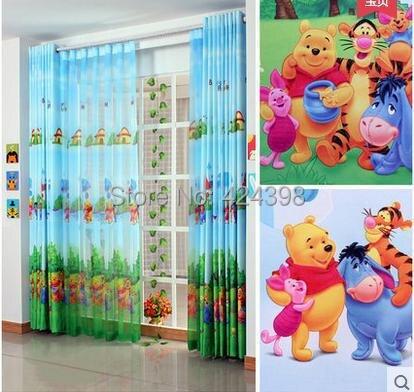 cortina dormitorio rstico moderno nios ventana de cortinas de tela impresa nio nios de dibujos animados de colores cortinas