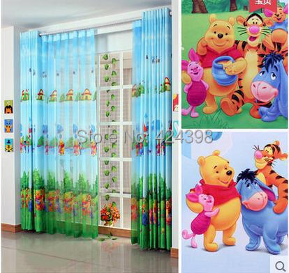 US $10.71 10% OFF|modern rustic kids window curtains printed cloth child  bedroom curtain kids colorful cartoon Living room curtains-in Curtains from  ...