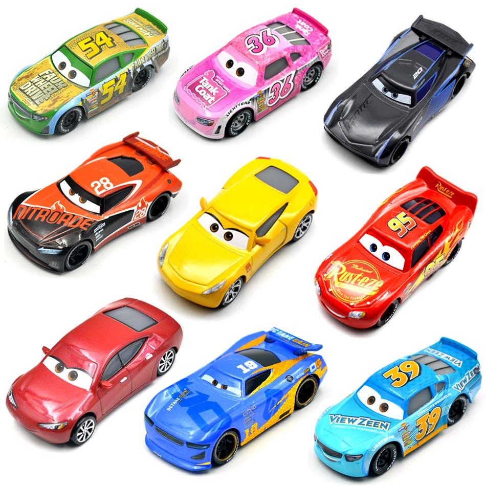 Disney Pixar 26 Style Cars 3 New Lightning McQueen...