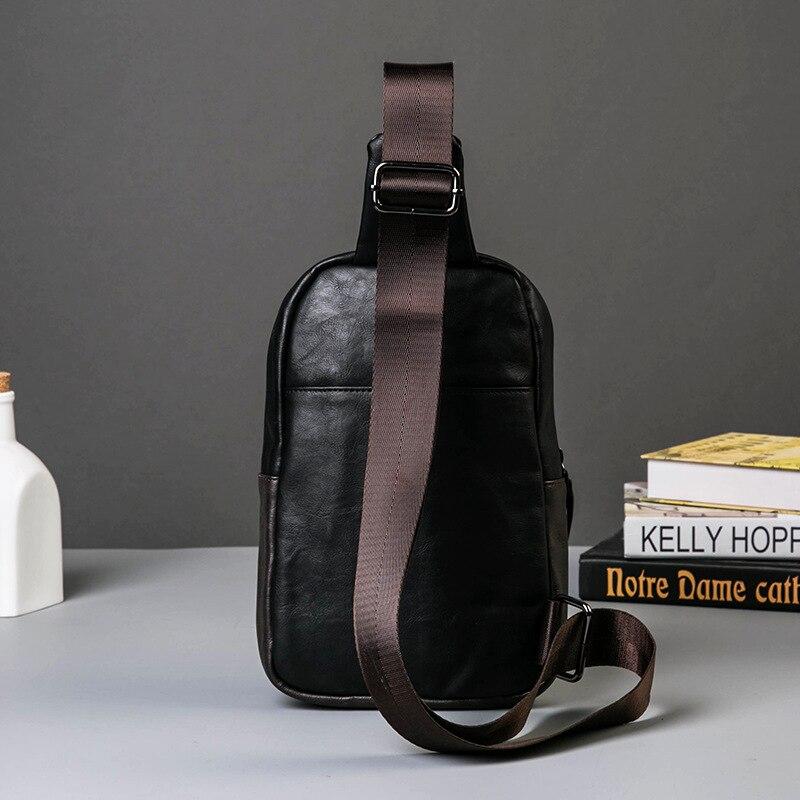620e8a2d44d4 casual men bag chest small shoulder men tide South Korea version Satchel  Bag chest pack on Aliexpress.com