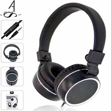 AhSSuf Casque Audio Headphones Music Earbuds Stereo Headset Game Oyuncu Kulakl k Auriculares Deportivos Com Fio with Microphone