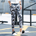 Army Camouflage Pants MenMilitary Cargo Pants New Casual Fitted Tracksuit BottomsCamouflage Pants Mens Joggers Elastic SweatPant