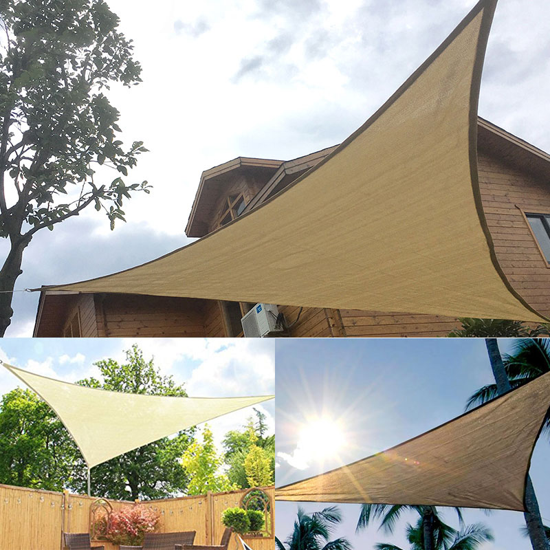 Canopy Portable Awning Moisture Sunshade Proof UV Shade Canopy Gazebo Shade Sail Drop shipping
