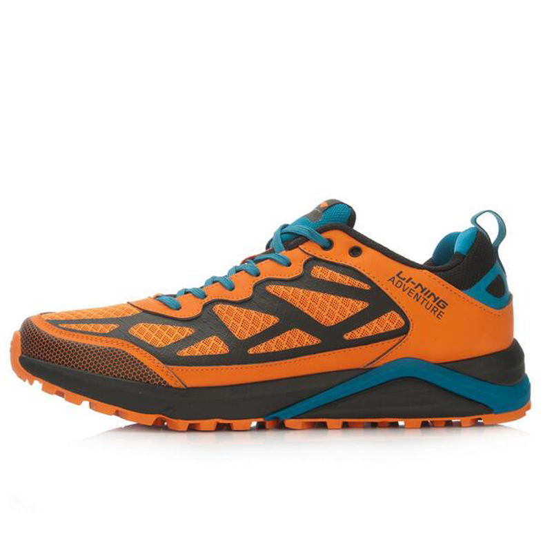 bcc91529570daa Li Ning Men Adventure Cushioning Trail Running Shoes Off Road Sneakers  Wearable Outdoor LiNing Sports Shoes AHRL001 XYP464-in Running Shoes from  Sports ...