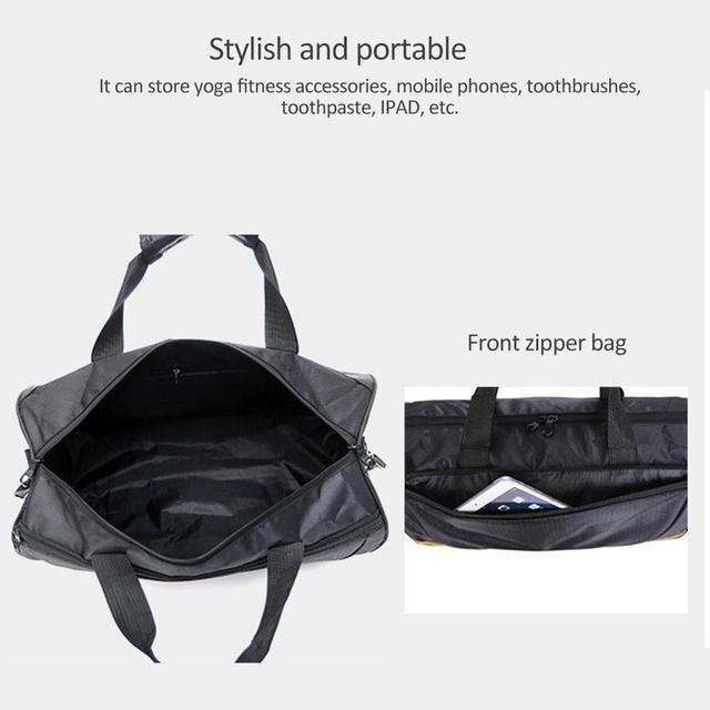 ac33efc8df8f Training Gym Bags Fitness Travel Outdoor Sports Bag Handbags Shoulder Dry  Wet Shoes For Women Men Sac De Sport