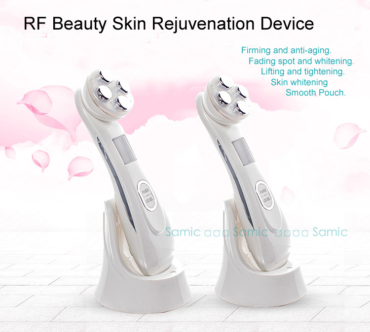 2018 Hot Sale New Best Sale Mesotherapy Electroporation RF Radio Frequency Facial LED Photon Skin Care Facial Beauty Device anti acne pigment removal photon led light therapy facial beauty salon skin care treatment massager machine