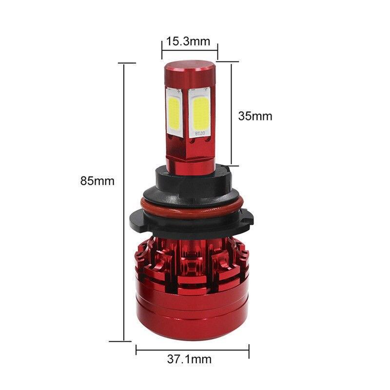 H13 1500W 225000LM CREE LED Headlight Kit Hi-Low Beam Bulb 6000K Pure White SH2