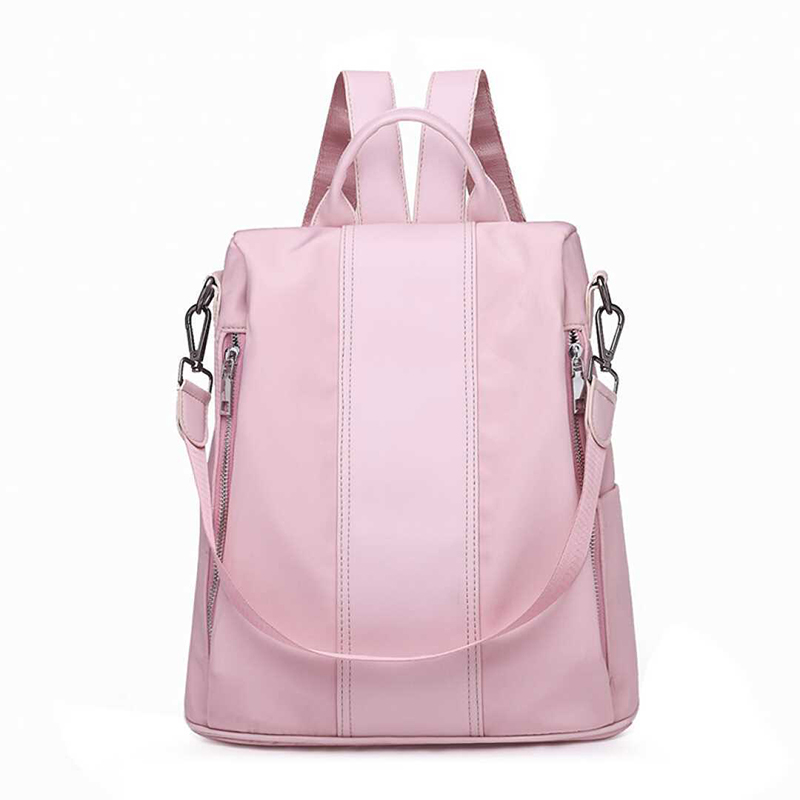 Fresh Style Multifunction Women Backpack Fashion Ladies Solid Shoulder Bag Rucksack Schoolbags Female Travel