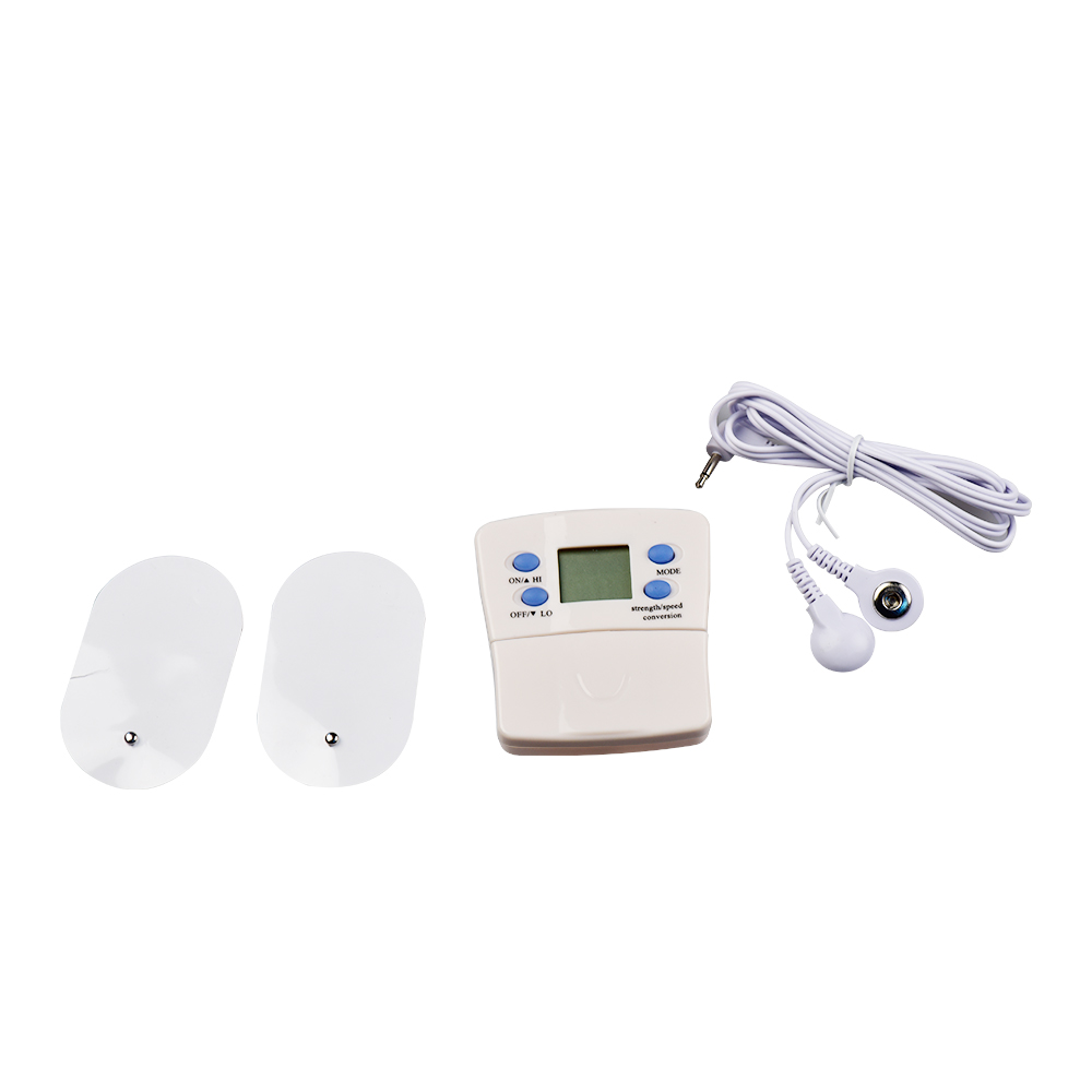Full Body Massager Slimming Massage Electric Slim Pulse Muscle Relax 4 Pads Electronic Pulse Burn Fat Burner Slimming Massager