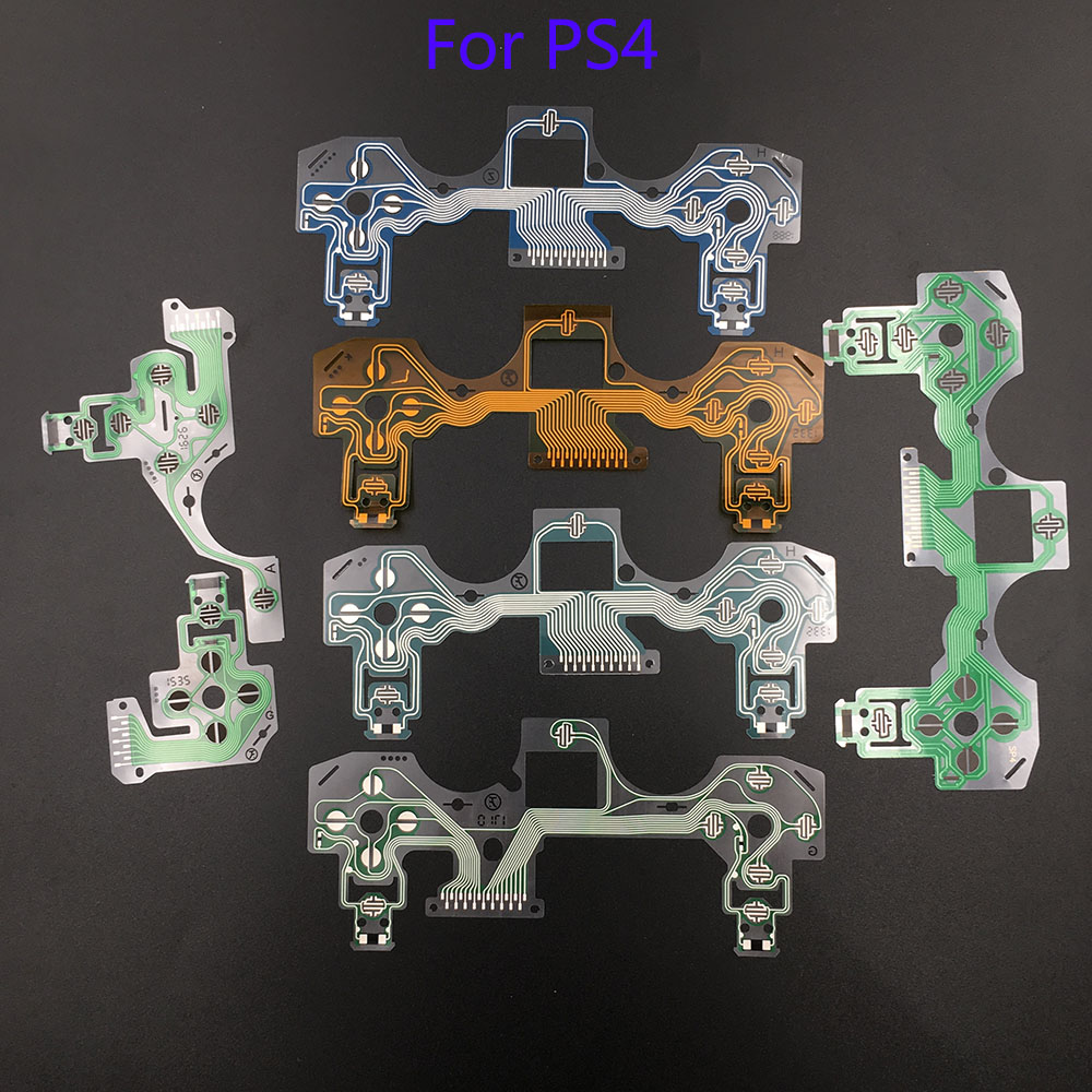 10Pcs For ps4 controller conductive film flex cable high quality for ps4 joystick repair part(China)