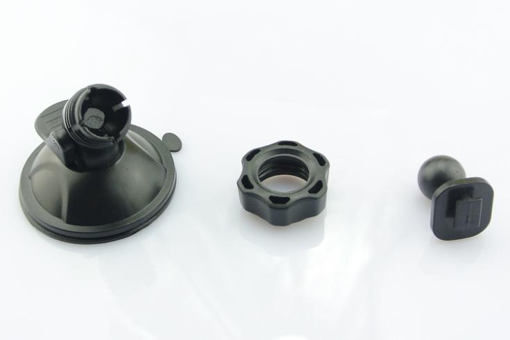 Mbajtës i rrotullueshëm G1W / G1WH DVR Conkim Black 360Degree - Aksesorë të brendshëm të makinave - Foto 4