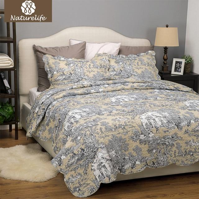 lightweight king bedspread extra lightweight naturelife printed quilt coverlet set bedspread bed cover classic floral patchwork design lightweight warm sets