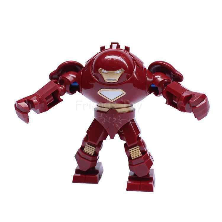 Ivan Vanko Whiplash Iron Figures Hulk Buster Venom Goblin Big Size Block Building Toys Compatible With Lego