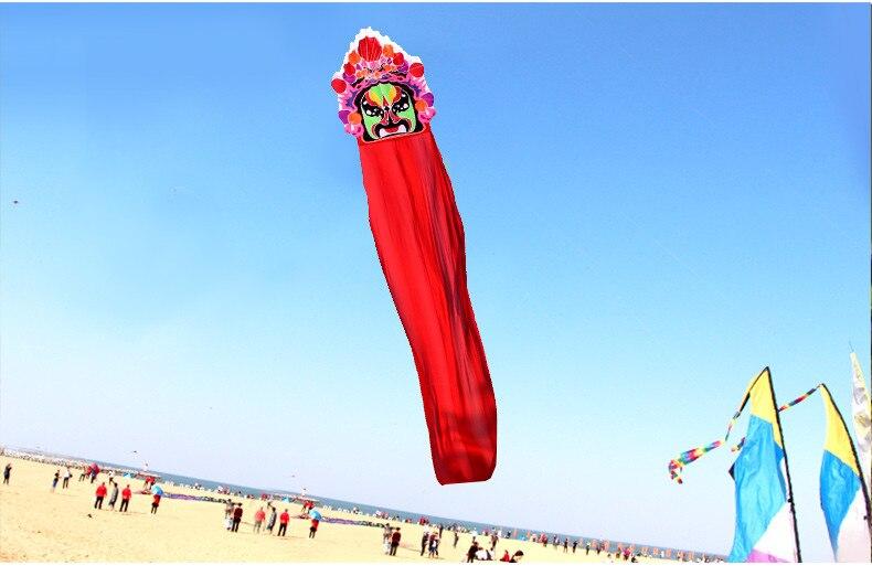 3D doux grand cerf-volant adulte style chinois opéra de pékin ligne unique cerfs-volants fabricants en plein air jouet usine de dessin animé en gros