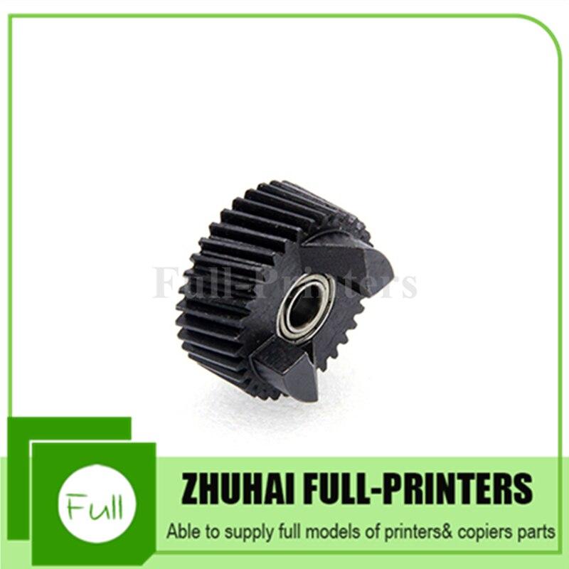 2 pçs novo compatível fuser drive gear