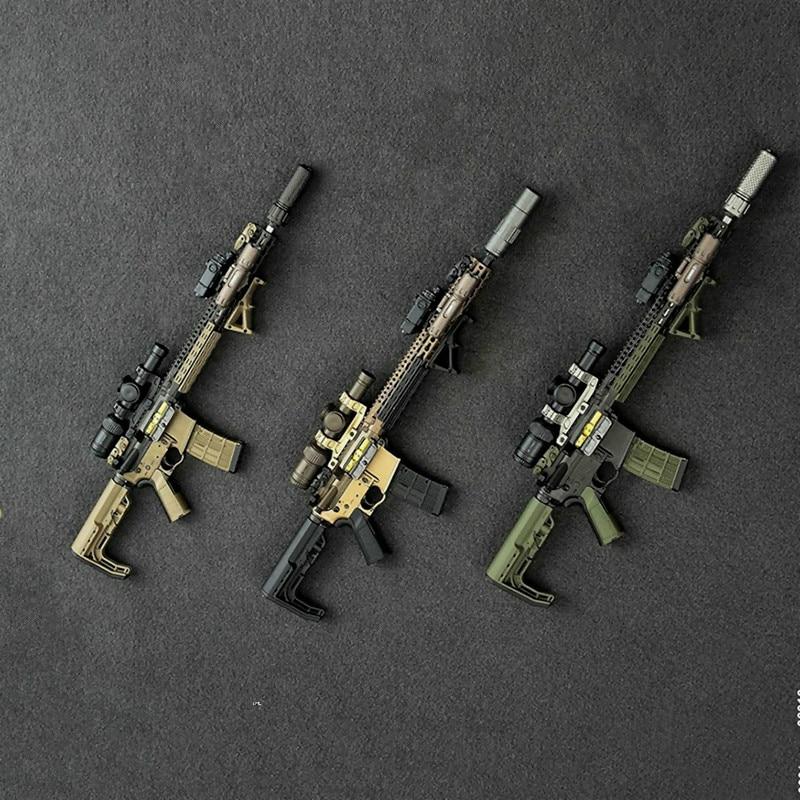 1/6 6016 PMC ensemble d'arme II modèles d'armes 1/6 échelle modèle arme jouets facile et Simple pour figurine d'action militaire de 12 pouces