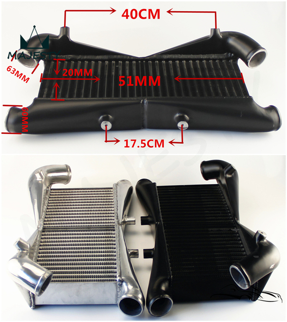 300zx Z32 Turbo Lag: Front Mount Intercooler For Nissan 300ZX Twin Turbo