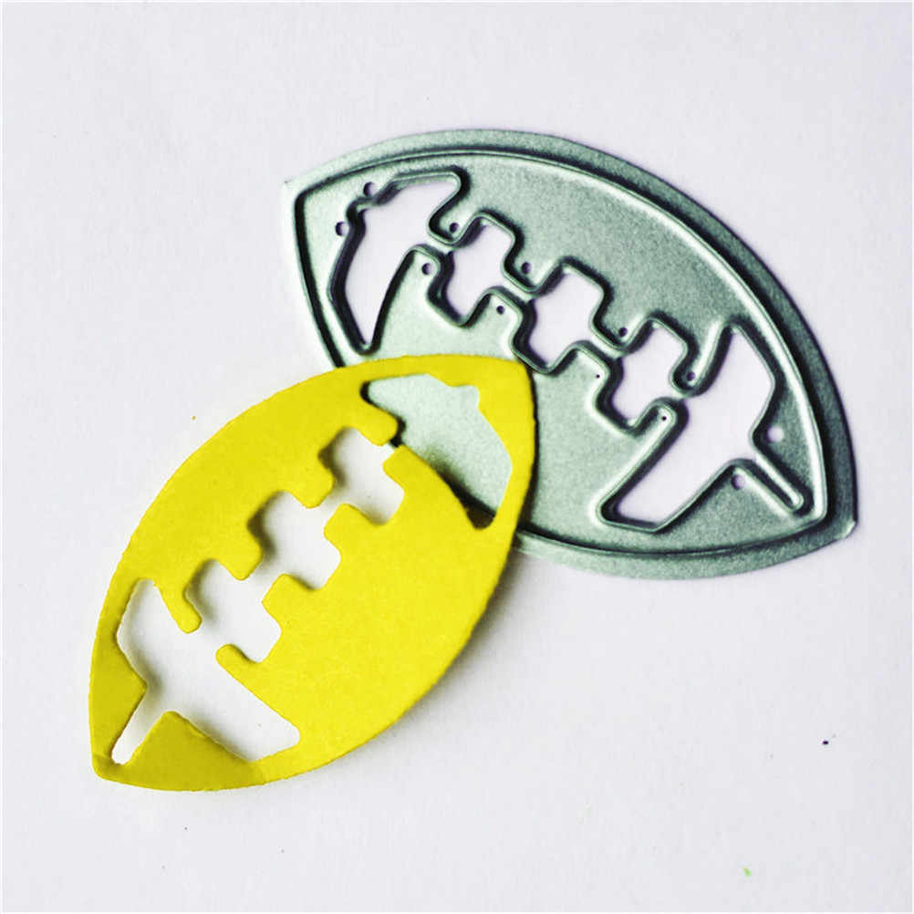 Football Metal Cutting Dies Embossing Dies Stencil Scrapbooking Soldes Cut Scrapbooking Dies Metal Photo Album Decorative