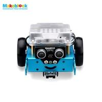 New Education Toys Robot Makeblock MBot Upgrated Version DIY Mbot V1 1 Educational Robot Kit Blue