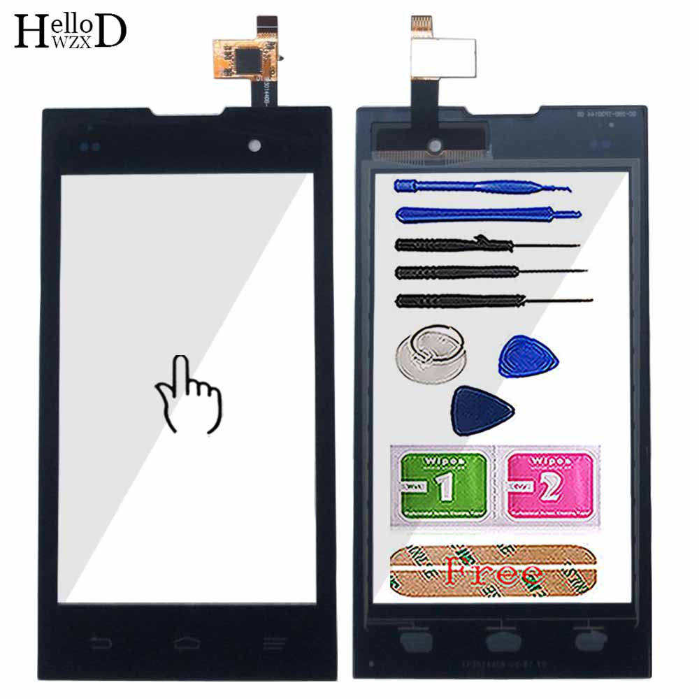 A+++ Quality Touch Glass For ZTE Kis 2 Max V815 V815W Touch Screen Digitizer Panel Front Glass Lens Sensor Rlace Free Shipping
