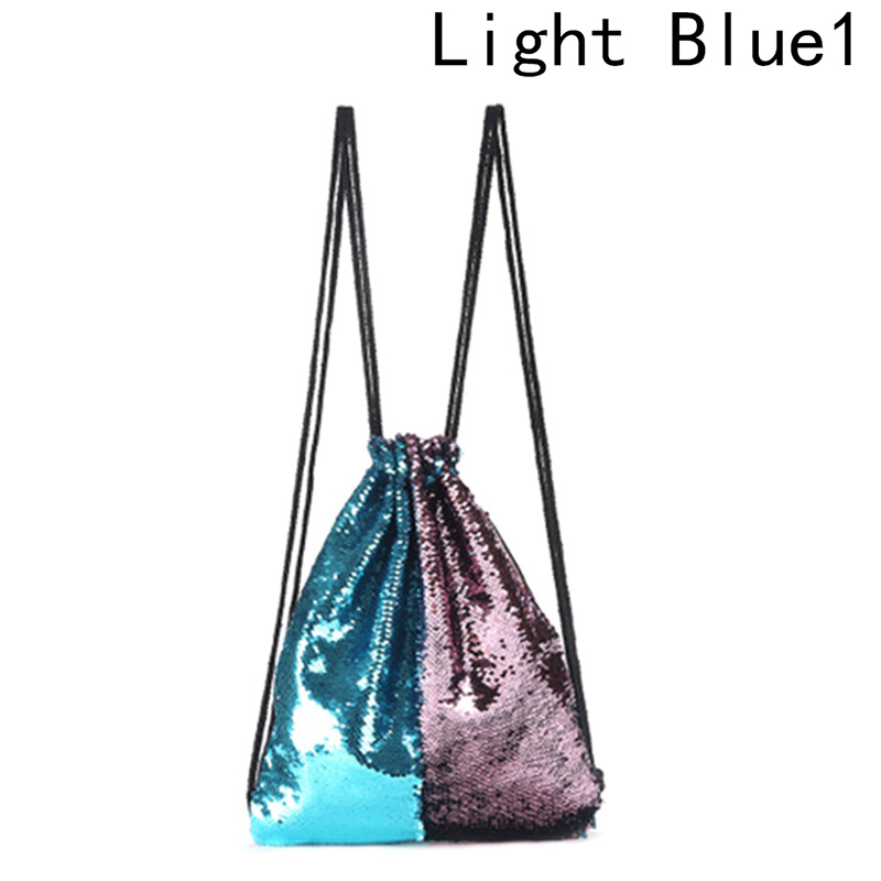 Women Backpack Fashion Double Color Reversible Sequins Backpacks Funny Ladies Magic Sequins Bags For Girl 2018