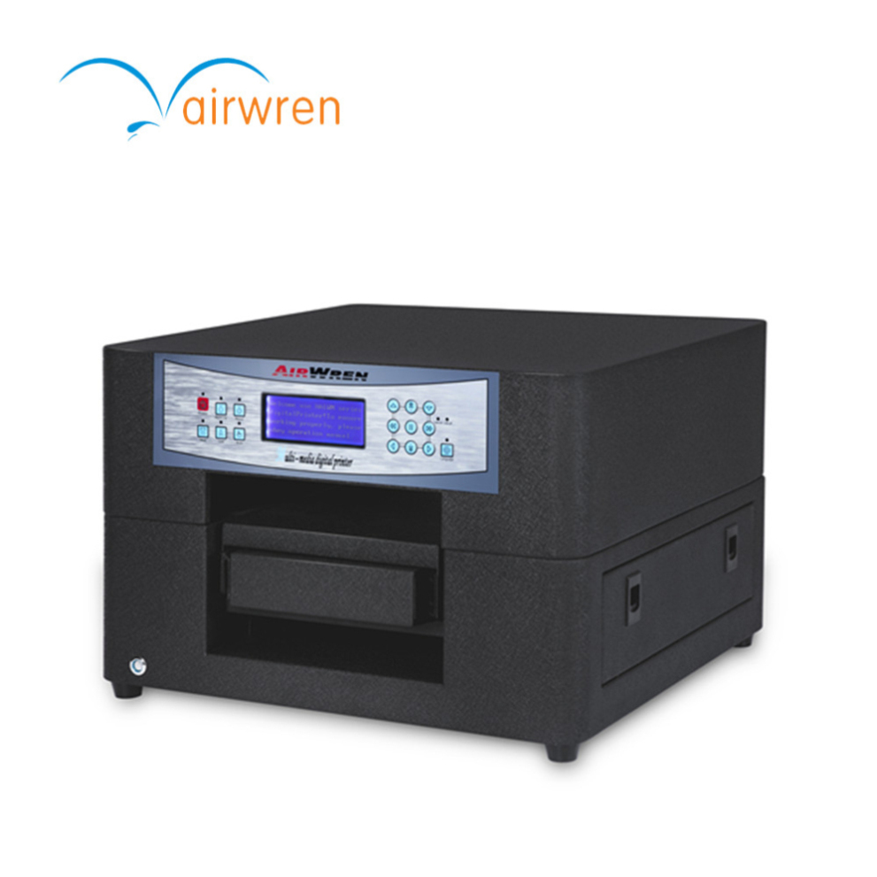 Multicolor Plastic Flatbed Printer With A4 Size Portable For Small Commercial Use