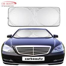 150*70cm Car Windshield Sunshade New Car Styling Nylon Front Rear Window Film UV Protect  Reflector Windshield Visor Cover