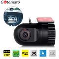 Gotomato mini câmera do dvr mini hd 1280*720 p 30fps car dvr recorder d168 câmera motion detection 270 rodado lente grau